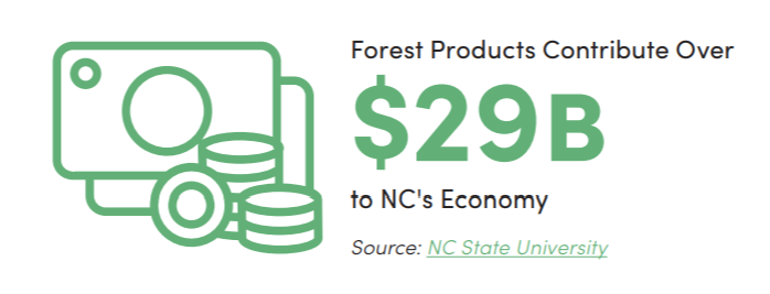 Forest Products & Wood Bioenergy: North Carolina Economic Fact Sheet